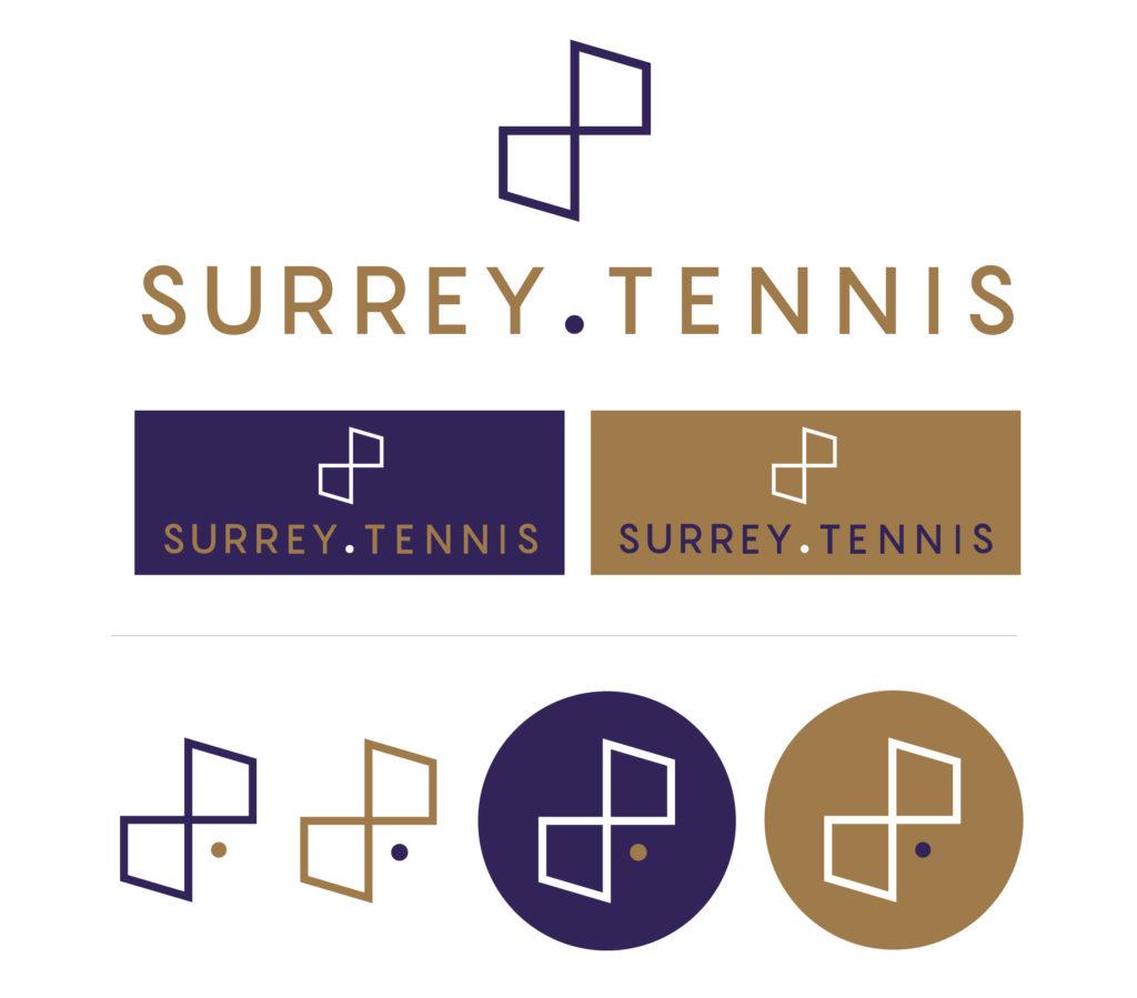 Surrey-Tennis-branding-logo