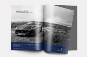 Maserati video production advert