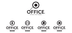 The Office In Town branding