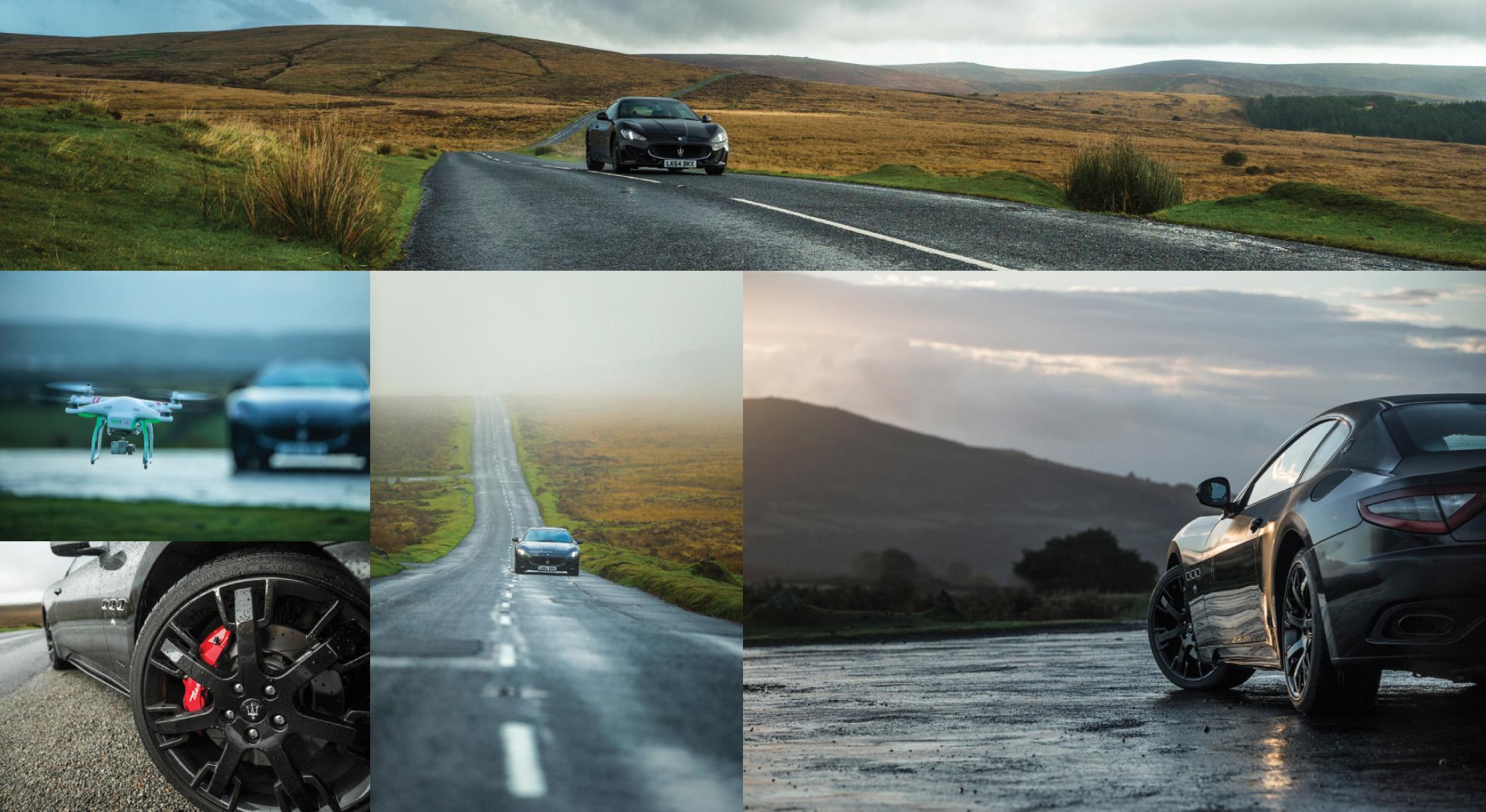 Maserati Video Production Car Photography Drone Mhg Design