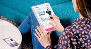 Samsung Europe digital marketing email tablet