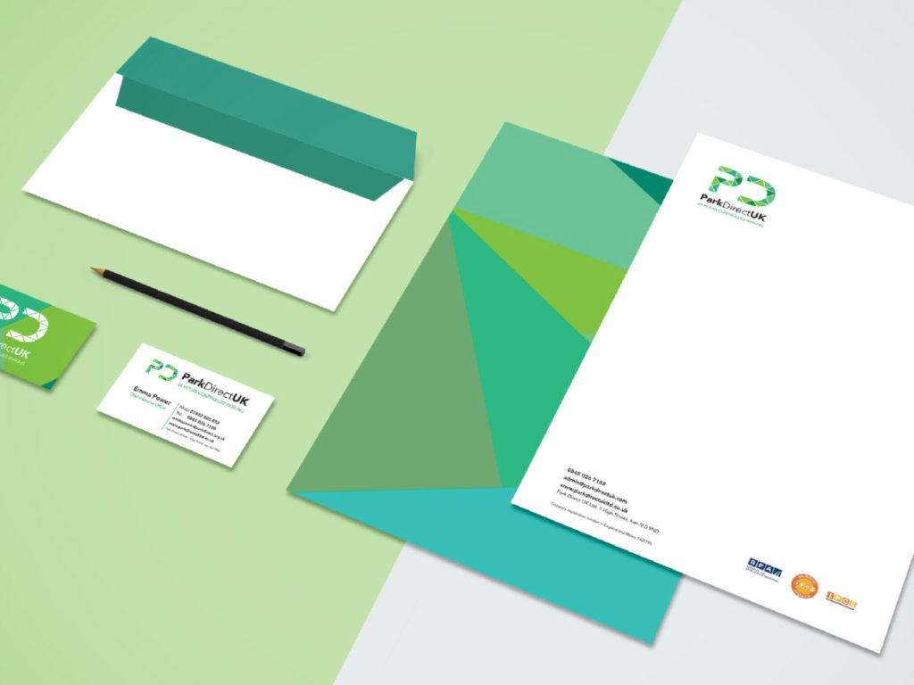 Park-Direct-branding-web-design-stationery