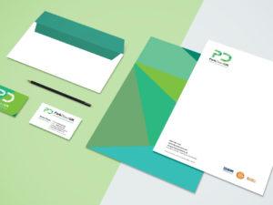 park direct branding web design stationery