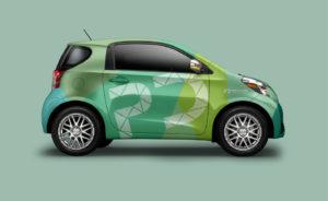 park direct branding web design car