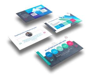 Samsung Europe powerpoint deck layout design
