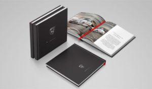 Abarth brand book design spread covers