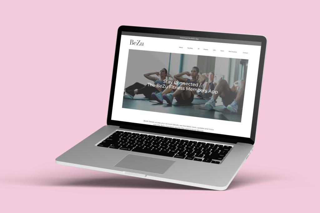 BeZu_web_App_page